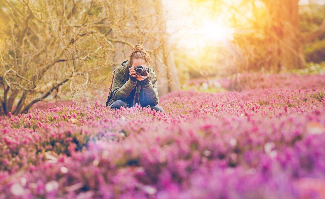 6 locații potrivite pentru ședințe foto primăvara